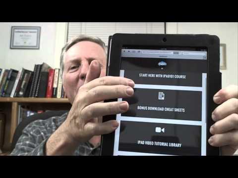 Ipad Directions For Seniors Ipad Directions