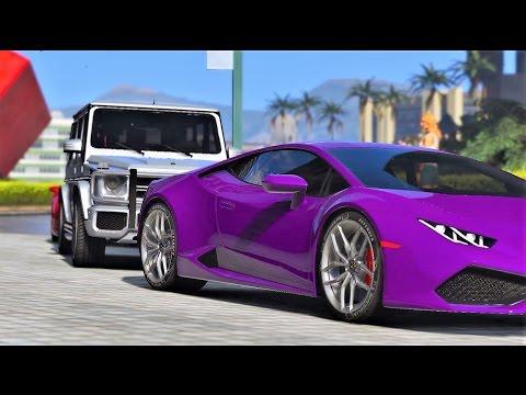 GTA V | MO VLOGS & SAYGIN YALCHIN'S CAR MEET NEAR BURJ KHALIFA | GTA 5