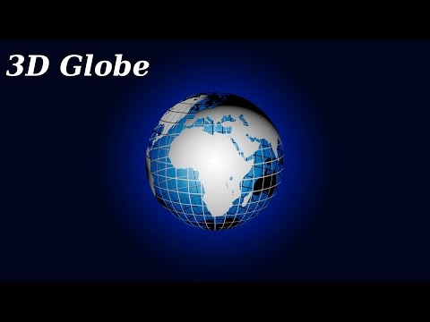 Photoshop CS5 3D Globe Tutorial