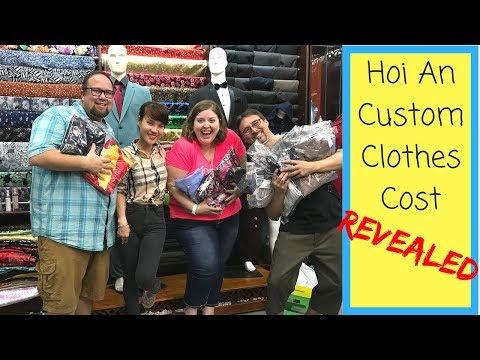 Custom Clothes Cost Revealed! | Hoi An, Vietnam Travel Vlog
