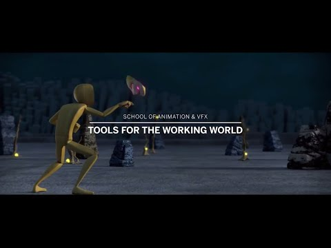 School of Animation & VFX – Tools for the Working World