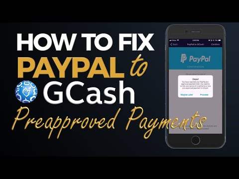 How to Fix Paypal to Gcash Preapproved Payment Limit Reached