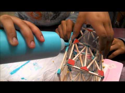Balsa Wood Tower Design, Construction, Testing