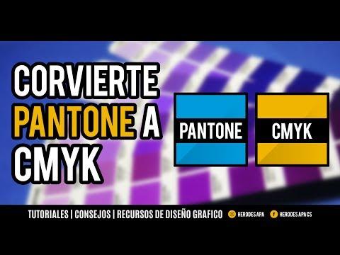 Illustrator CC: PROCESO para convertir colores PANTONE a CMYK