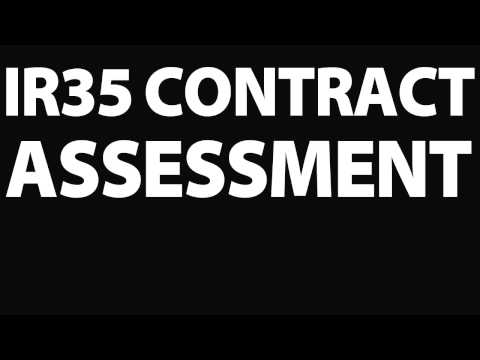 IR35 Contract assessment  Free IR35 Contract review