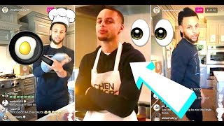 Steph Curry Says He LOVES Filipino Food and MISSES The Philippines On His Instagram Live