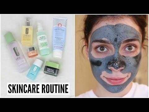 SKINCARE ROUTINE | Dry Skin + Acne