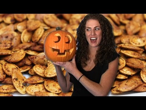 How to Carve a Pumpkin - Roasted Pumpkin Seeds Recipe
