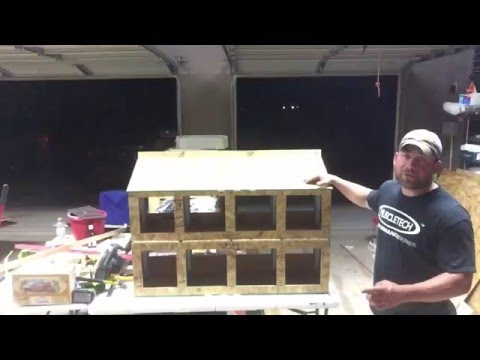 Easy Clean Chicken Nesting Box