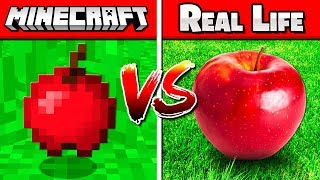 REAL VS FAKE MINECRAFT CHALLENGE #2!