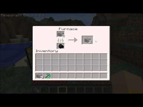 Minecraft Tipps & Tricks #02 - Wie man Moss Stone Bricks herstellt/craftet! [1.8.1]