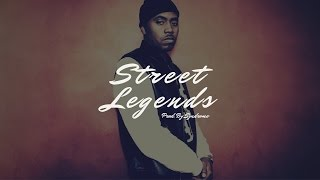 FREE Hard Old-School Piano Rap Beat / Street Legends (Prod. By Syndrome)