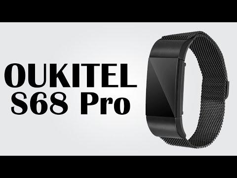 OUKITEL S68 Pro -  Heart Rate Smartband / Remote Camera / Anti-lost / IP65 / Waterproof