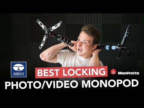 Sirui vs Manfrotto - Best Locking Video Monopod for Wedding Filmmakers