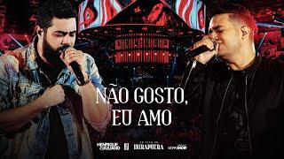 Henrique e Juliano - NÃO GOSTO EU AMO - DVD Ao Vivo No Ibirapuera