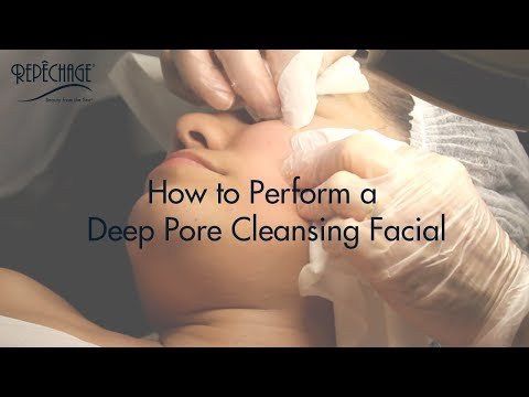 How to Perform a Clinical Deep Pore Cleansing Facial with Extractions by Lydia Sarfati