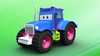 kids Tractors   Car Cartoon videos for kids   videos for toddlers