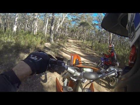 Trail riding near Sydney