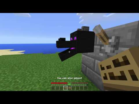 Moving dragon head trick - Minecraft PE 1.0.5
