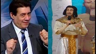 علي ربيع يقلد مدحت شلبي على طريقته الخاصة .. هتموت من الضحك😂 #تياترو_مصر