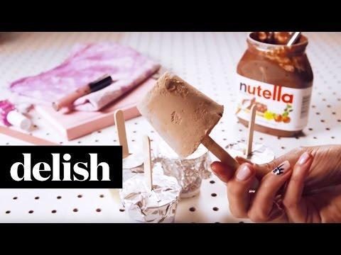 Nutella Pops | Delish + Seventeen