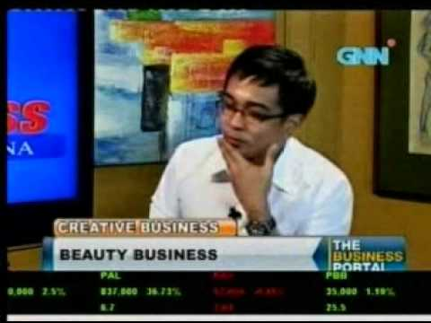 Philippine Business TV Talk Show Host features Make up by Faye Young