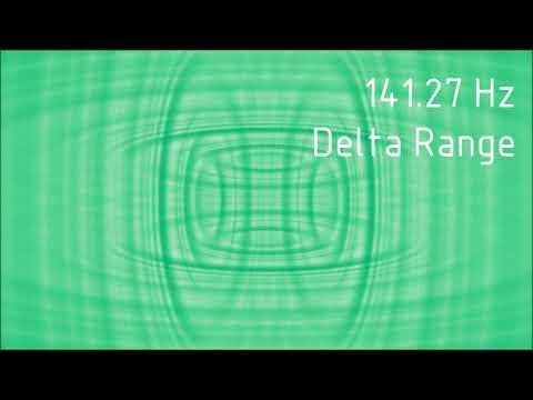 Pure 141.27 Hz Delta Range Binaural Beats [30 min]