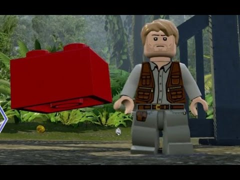 LEGO Jurassic World - All 20 Red Brick / Cheat Locations (Complete Red Brick / Cheat Guide)
