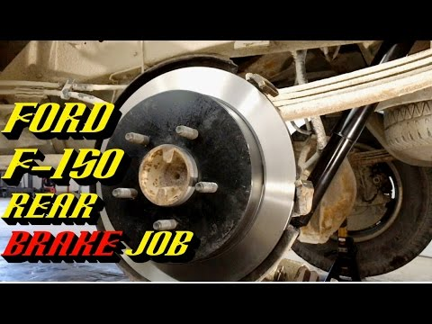 1997-2010 Ford F-150 Rear Brake Job: Pads and Rotor Replacement