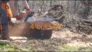 Stihl 241 vs 362 after muffler modifications Videos & Books