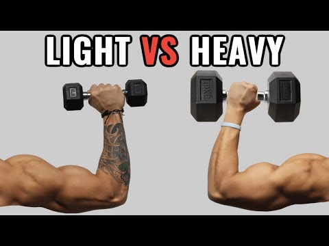 Light Weights vs Heavy Weights for Muscle Growth