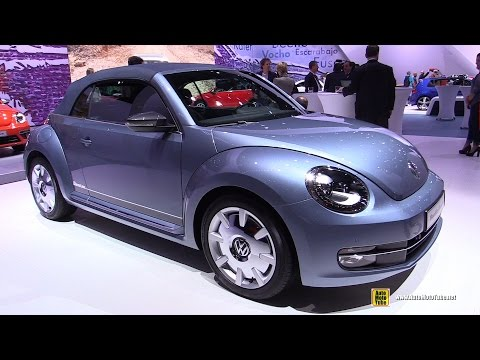 2016 Volkswagen Beetle Denim - Exterior and Interior Walkaround - Debut at 2015 New York Auto Show