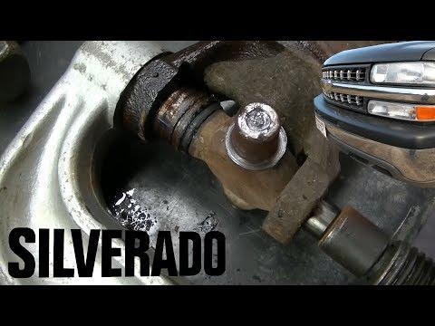 2000 Silverado Z71 1500 Rear U Joint Repair
