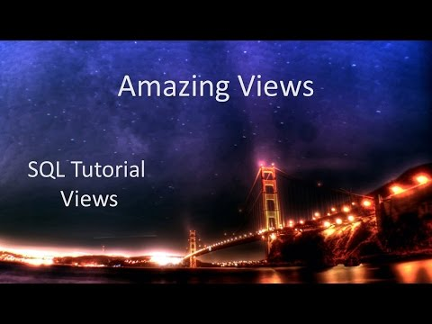 SQL Tutorial - Views