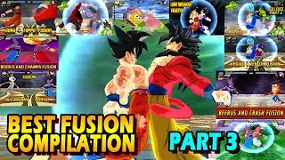 Dragon Ball Best Fusion Compilation PART 3 | BEST DBZ FUSIONS OF 2017 | DBZ Tenkaichi 3 (MOD)