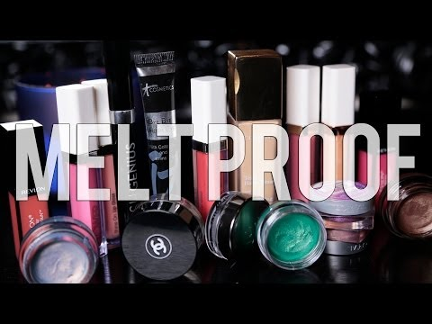 MELT PROOF MAKEUP | Best Waterproof Products #51