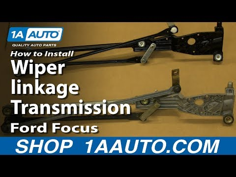 How To Install Replace Wiper linkage Transmission 2000-05 Ford Focus