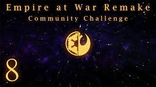 Empire at War Remake mod new Death Star obliterating Rebel fleet