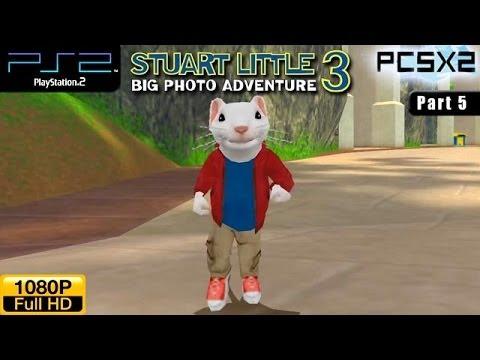 Stuart Little 3: Big Photo Adventure - PS2 Walkthrough - part 5 (Forest)