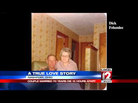 Ohio couple married 70 years, die hours apart