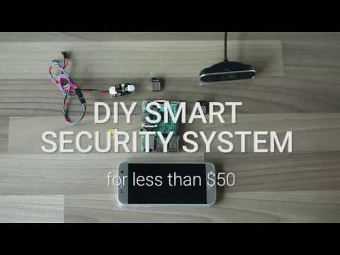 [DIY] Smart Security System for less than $50