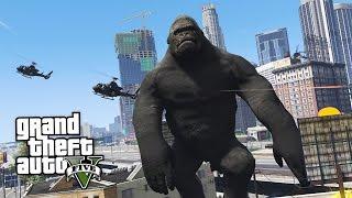 GTA 5 Mods - ULTIMATE KING KONG MOD!! GTA 5 King Kong Mod Gameplay! (GTA 5 Mods Gameplay)