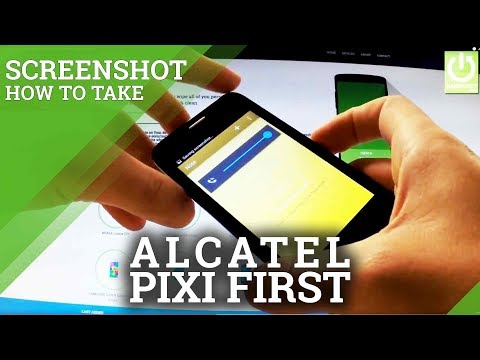 Alcatel One Touch Pixi First How To Take Screenshots Capture Screen
