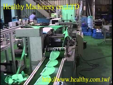 Nonwoven disposable surgeon cap machine HM200-7