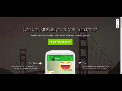 How To Create Messenger App || How To Create Android App Without Coding