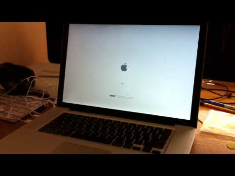 MacBook Pro 2010 unibody won't boot