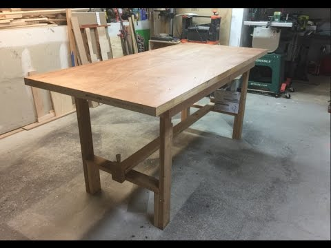 Make a Folding Workbench