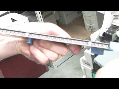 HP 5500 - How To Clean Fuser Input