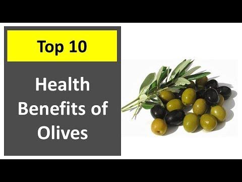 Top 10 Health benfits of Olives