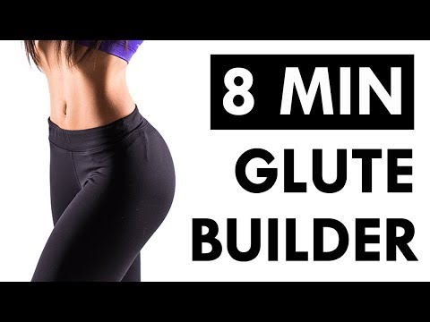 How To Grow Bigger Glutes FAST | 8 Minute Glutes Workout For Women at Home
